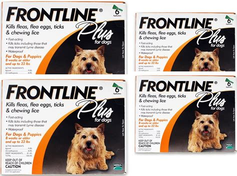 frontline flea and tick for dogs merial frontline plus flea and tick for dogs and puppies home