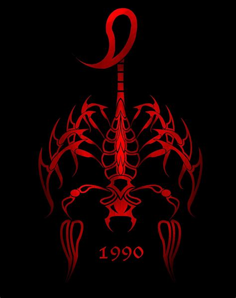 scorpion red by cornbreak on deviantart