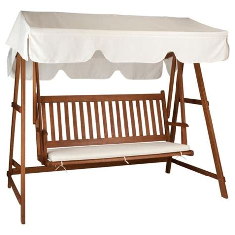 wooden swing bench buy windsor wooden swing bench from our garden chairs