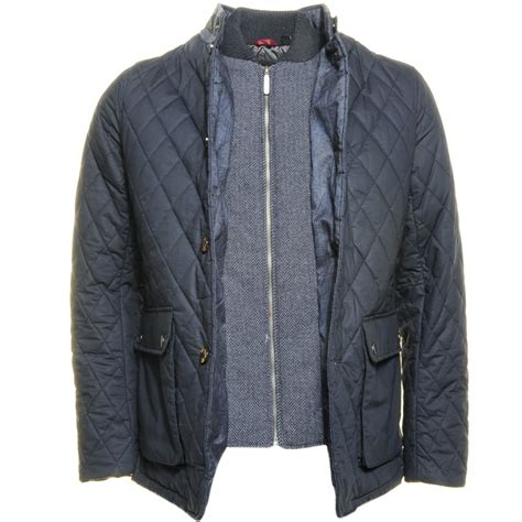 Ted Baker Mens Quilted Jacket buy ted baker mens navy garyen quilted jacket at hurleys