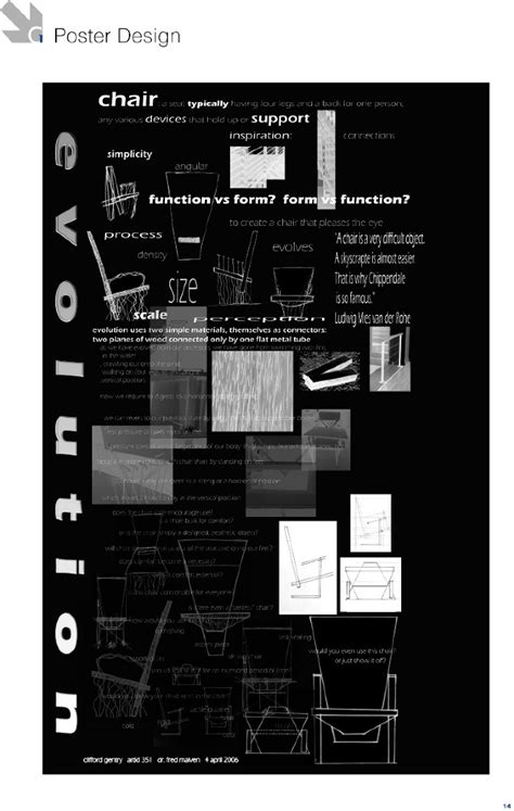 design poster interior poster design and chair design clifford gentry designs