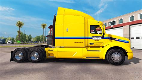 what is the truck skin penske truck rental truck peterbilt for