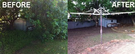 backyard clean up perth garden clean up specialist supplier of garden
