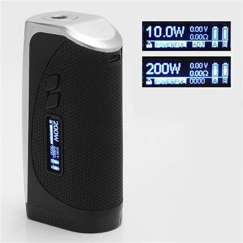 Authentic Mod Ipv Vesta 200w Chip Yihi 410 By Pioneer authentic pioneer4you ipv vesta 200w silver 212 572 f tc vw box mod