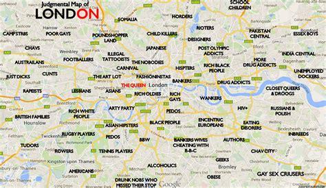 london sections map london map of neighborhoods
