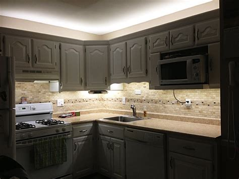 Kitchen Cabinets With Lights | under cabinet led lighting kit complete led light strip