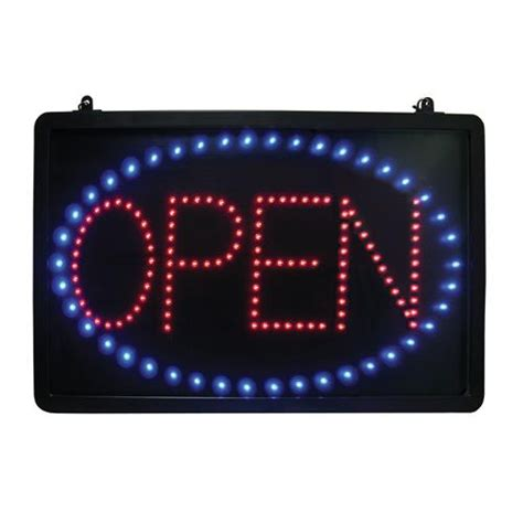 room in use lighted sign update led open open sign etundra