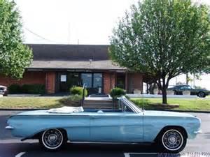 1962 Pontiac Tempest Convertible 1962 Pontiac Tempest Lemans Convertible Only 56 000