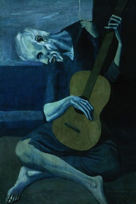 picasso paintings the tragedy picasso blue period i