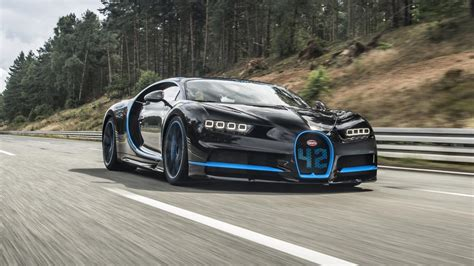 fastest bugatti the bugatti chiron is officially the fastest car from 0