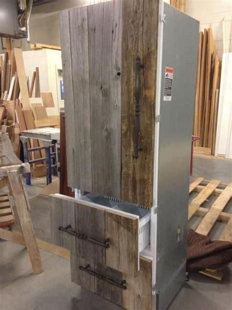 Antique barn board refrigerator panels!   Miscellaneous