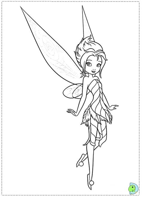 tinkerbell   secret   wings coloring pages