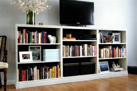 ikea bookcase hack basement
