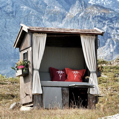 gartenideen mit strandkorb alpenstrandkorb der bayerische strandkorb strandkorb
