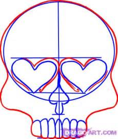 How to draw a sugar skull design step by step skulls pop culture