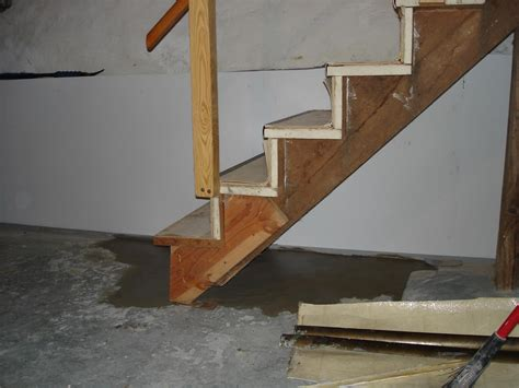 basement concrete repair