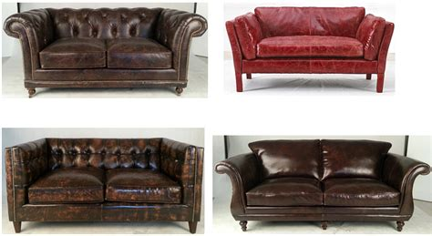 industrial sofas industrial antique brown 3s retro cow leather sofa buy