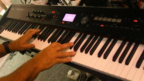 Keyboard Roland Rd700nx roland rd700nx stage piano jazz jam session