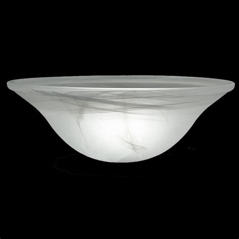 glass dome l shade 9978 white swirl glass dome shade 15 1 4 quot glass