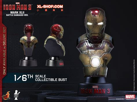 toys htb14 20 iron 3 1 6th scale collectible bust series deluxe set