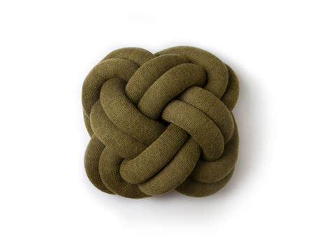 knot pillows knot pillow green