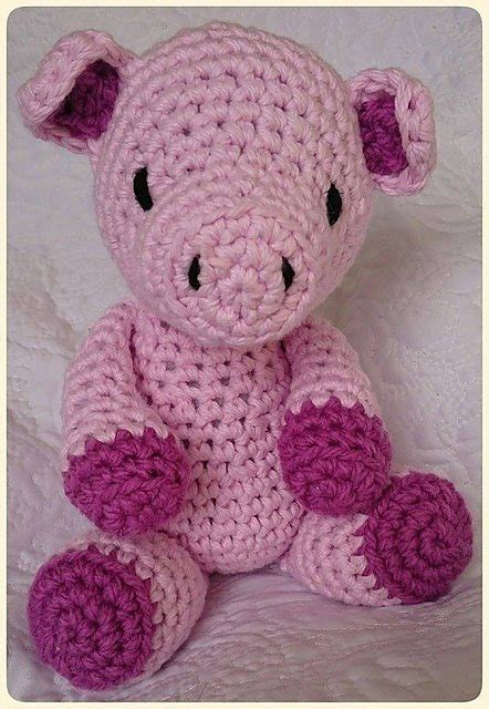 pattern crochet pig cute crochet critters pigs are on trend