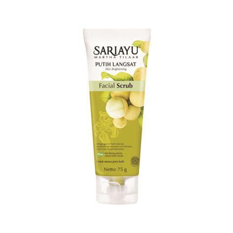 Masker Mawar Sariayu jual sariayu putih langsat scrub produk sariayu