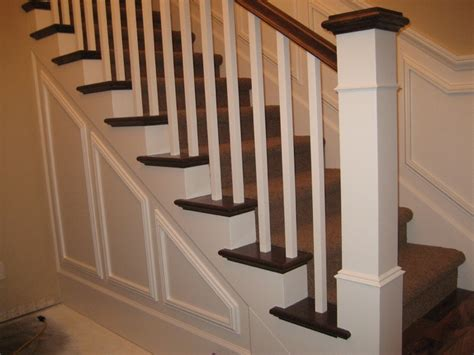 banister styles bertram blondina handrail and stair craftsman style stairs