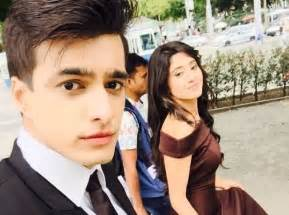 imgyeh rishta kya kehlata hai actor mohsin khan celebrates birthday rumoured girlfriend co star yeh rishta kya kehlata hai mohsin and shivangi on birthday cakes with a lot of candles