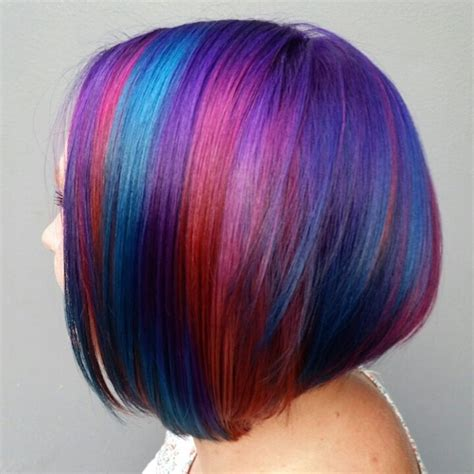 bobs on locked hair pravana locked in hair color on undercut bob