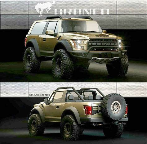 ford bronco 2020 2021 ford bronco 2 door convertible rendering 2020