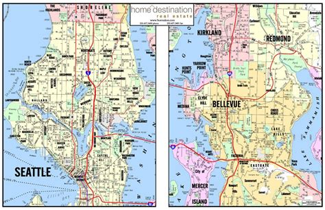 map of seattle area home destination real estate seattle and puget sound area map