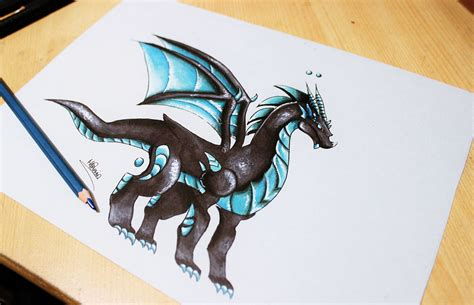 the best drawings of dragons speed drawing dragon tesla dragon city youtube