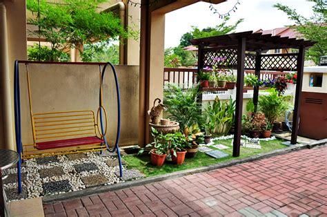 desain gazebo depan rumah taman rumah minimalis