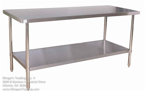Stainless Steel Kitchen Prep Table Stainless Steel Prep Table