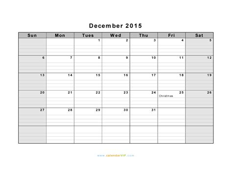 printable december calendar with lines december 2015 lined calendar calendar template 2016