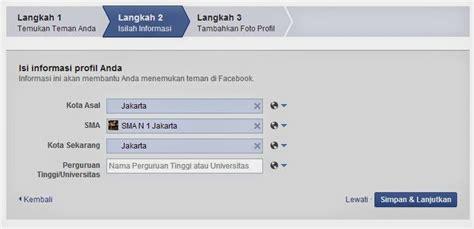 membuat akun facebook sekolah cara membuat akun facebook cyber deso