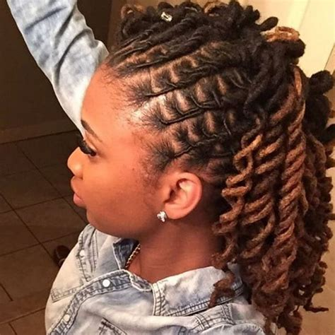 hairstyles for dreads 25 best ideas about locs styles on pinterest locs