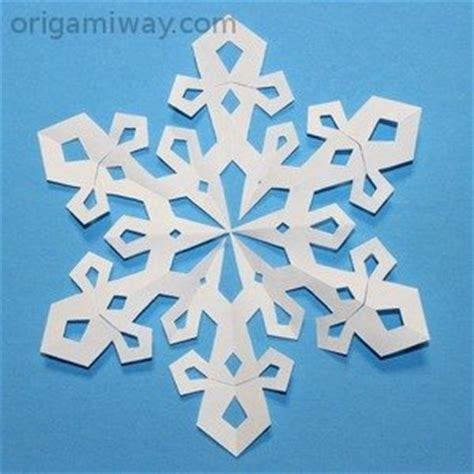 A Snowflake Out Of Paper - free paper snowflake patterns