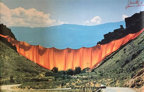 valley curtain christo christo s valley curtain nw film center