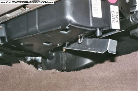 cabin air filter location ford truck enthusiasts forums