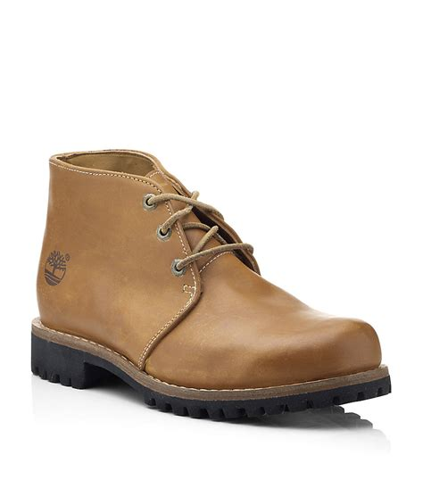 timberland boots chukka timberland rugged chukka boots in brown for lyst