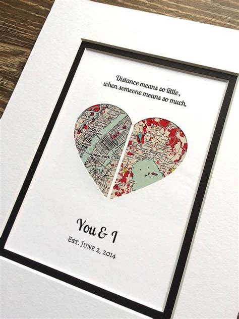 distance valentines gifts valentines day gift for distance v day gift by