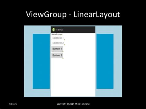 viewgroup android android build user interface