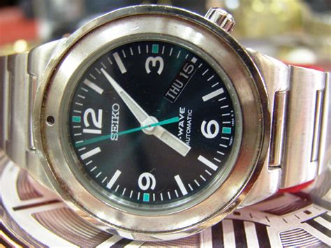 Seiko S Wave s treasure chest of time pieces 2011 new year sale second