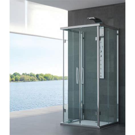 cabine doccia cristallo box doccia tre lati cristallo opaco o trasparente