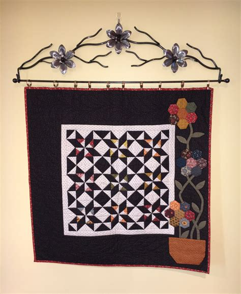Quilt Rack Wall by 32 Flower Wall Quilt Rack