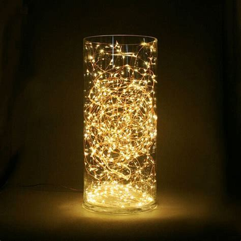 copper wire lights ideas copper wire string light cr2032 battery powered tiny led