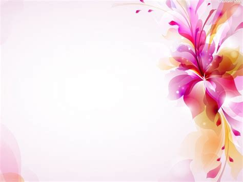 Hd Vintage Flower Powerpoint Backgrounds Background Background Machine Powerpoint Flower Background