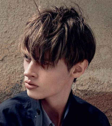 haircuts for thick hair with fringe 15 mens fringe hairstyles mens hairstyles 2018